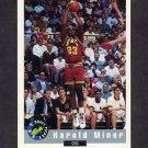 1992 Classic Basketball #84 Harold Miner - Miami Heat