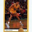 1993 Classic Basketball #010 Toni Kukoc - Chicago Bulls