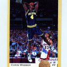 1993 Classic Basketball #001 Chris Webber - Orlando Magic