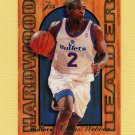 1995-96 Fleer Flair Hardwood Leaders Basketball #27 Chris Webber - Washington Bullets