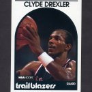 1989-90 Hoops Basketball #190 Clyde Drexler - Portland Trail Blazers