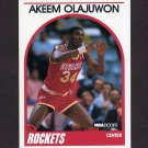 1989-90 Hoops Basketball #180 Hakeem Olajuwon - Houston Rockets