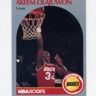 1990-91 Hoops Basketball #127 Hakeem Olajuwon - Houston Rockets