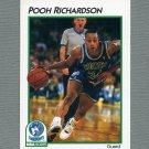 1991-92 Hoops McDonald's Basketball #24 Pooh Richardson - Minnesota Timberwolves