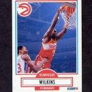 1990-91 Fleer Basketball #006 Dominique Wilkins - Atlanta Hawks