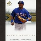 2008 SP Authentic Rookie Exclusives Baseball #BB Brandon Boggs - Texas Rangers