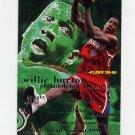 1995-96 Fleer Basketball #137 Willie Burton - Philadelphia 76ers