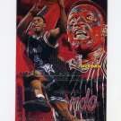 1995-96 Fleer Basketball #126 Nick Anderson - Orlando Magic