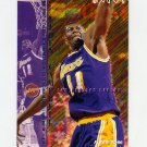1995-96 Fleer Basketball #086 Elden Campbell - Los Angeles Lakers