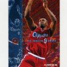1995-96 Fleer Basketball #081 Tony Massenburg - Los Angeles Clippers
