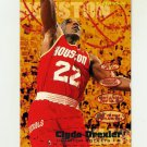 1995-96 Fleer Basketball #066 Clyde Drexler - Houston Rockets