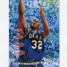 1995-96 Fleer Basketball #037 Jamal Mashburn - Dallas Mavericks