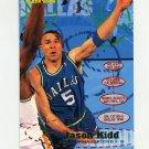 1995-96 Fleer Basketball #036 Jason Kidd - Dallas Mavericks