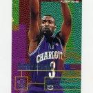 1995-96 Fleer Basketball #017 Hersey Hawkins - Charlotte Hornets
