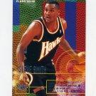 1995-96 Fleer Basketball #007 Steve Smith - Atlanta Hawks