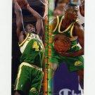 1995-96 Fleer Double Doubles Basketball #06 Shawn Kemp - Seattle Supersonics