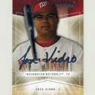 2005 Skybox Autographics Baseball #057 Jose Vidro - Washington Nationals