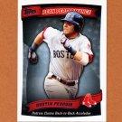 2010 Topps Baseball Peak Performance #043 Dustin Pedroia - Boston Red Sox