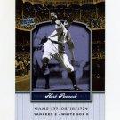 2008 Upper Deck Yankee Stadium Legacy Collection #0139 Herb Pennock - New York Yankees