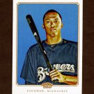 2010 Topps 206 Baseball #243 Alcides Escobar - Milwaukee Brewers
