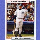 2005 Bazooka Baseball #045 Jorge Posada - New York Yankees