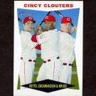 2009 Topps Heritage Baseball #352 Joey Votto / Edwin Encarnacion / Jay Bruce - Cincinnati Reds