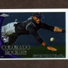 2010 Topps Chrome Baseball #171 Eric Young Jr. RC - Colorado Rockies