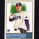 2011 Topps Allen and Ginter Baseball #020 Jeremy Hellickson RC - Tampa Bay Rays