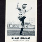 1977-84 Galasso Glossy Greats Baseball #176 Hughie Jennings MG - Detroit Tigers
