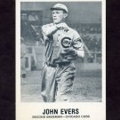 1977-84 Galasso Glossy Greats Baseball #159 John Evers - Chicago Cubs