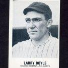 1977-84 Galasso Glossy Greats Baseball #157 Larry Doyle - New York Giants