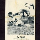 1977-84 Galasso Glossy Greats Baseball #136 Ty Cobb - Detroit Tigers