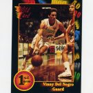 1991-92 Wildcard Basketball #079 Vinny Del Negro - North Carolina State
