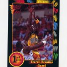 1991-92 Wildcard Basketball #040 Terrell Brandon - Oregon