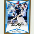 2008 Bowman Draft Prospects Gold Baseball #BDPP079 Wes Hodges - Cleveland Indians