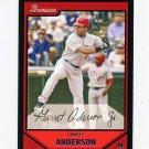 2007 Bowman Baseball #157 Garret Anderson - Los Angeles Angels