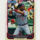 2012 Bowman Chrome Refractors Baseball #107 Albert Pujols - Los Angeles Angels