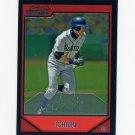 2007 Bowman Chrome Baseball #075 Ichiro Suzuki - Seattle Mariners
