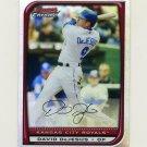2008 Bowman Chrome Refractors Baseball #002 David DeJesus - Kansas City Royals