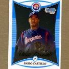 2008 Bowman Chrome Prospects Baseball #BCP222 Fabio Castillo - Texas Rangers