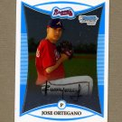 2008 Bowman Chrome Prospects Baseball #BCP198 Jose Ortegano - Atlanta Braves