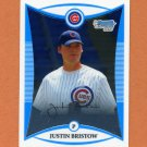 2008 Bowman Chrome Draft Prospects Baseball #BDPP021 Justin Bristow - Chicago Cubs