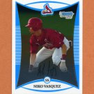 2008 Bowman Chrome Draft Prospects Baseball #BDPP015 Niko Vasquez - St. Louis Cardinals