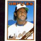 1988 Topps Traded Baseball #010T Jose Bautista RC - Baltimore Orioles