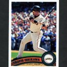 2011 Topps Baseball #599 Travis Ishikawa - San Francisco Giants