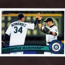 2011 Topps Baseball #589 Seattle Mariners TC