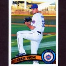 2011 Topps Baseball #580 Chris Young - New York Mets