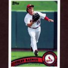 2011 Topps Baseball #448 Colby Rasmus - St. Louis Cardinals