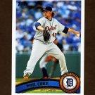 2011 Topps Baseball #391 Phil Coke - Detroit Tigers