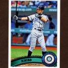 2011 Topps Baseball #385 Ichiro Suzuki - Seattle Mariners